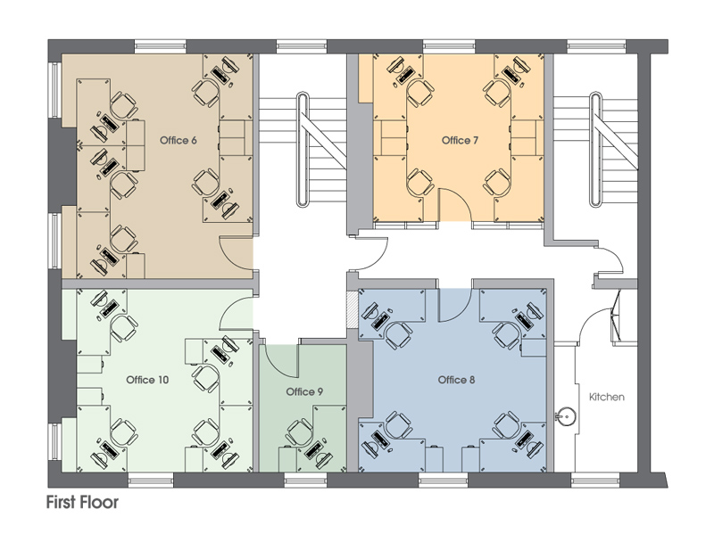 Quantum House Offices Office Plans Dimensions